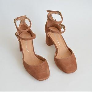 Shoes - INTENTIONALLY BLANK NYC Holly Heel in Cognac